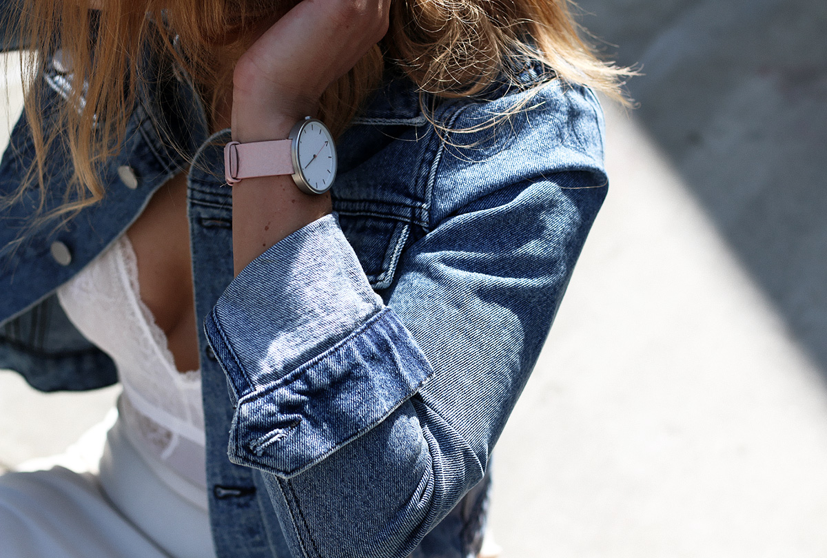 Style blogger Lisa Hamilton from See Want Shop wearing The Fifth Watches
