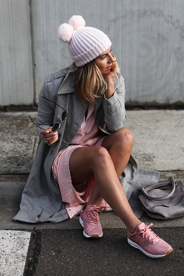 WHY BLUSH PINK SNEAKERS ARE THE SHADE YOU NEED NOW