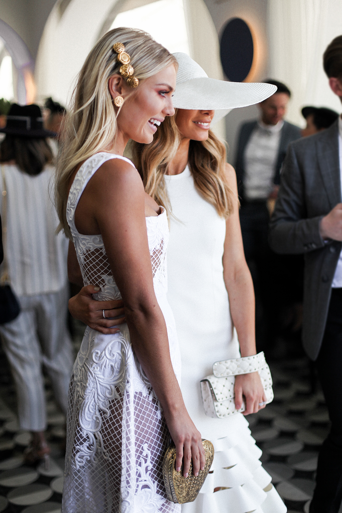 Elyse Knowles & Nadia Bartel at Derby Day