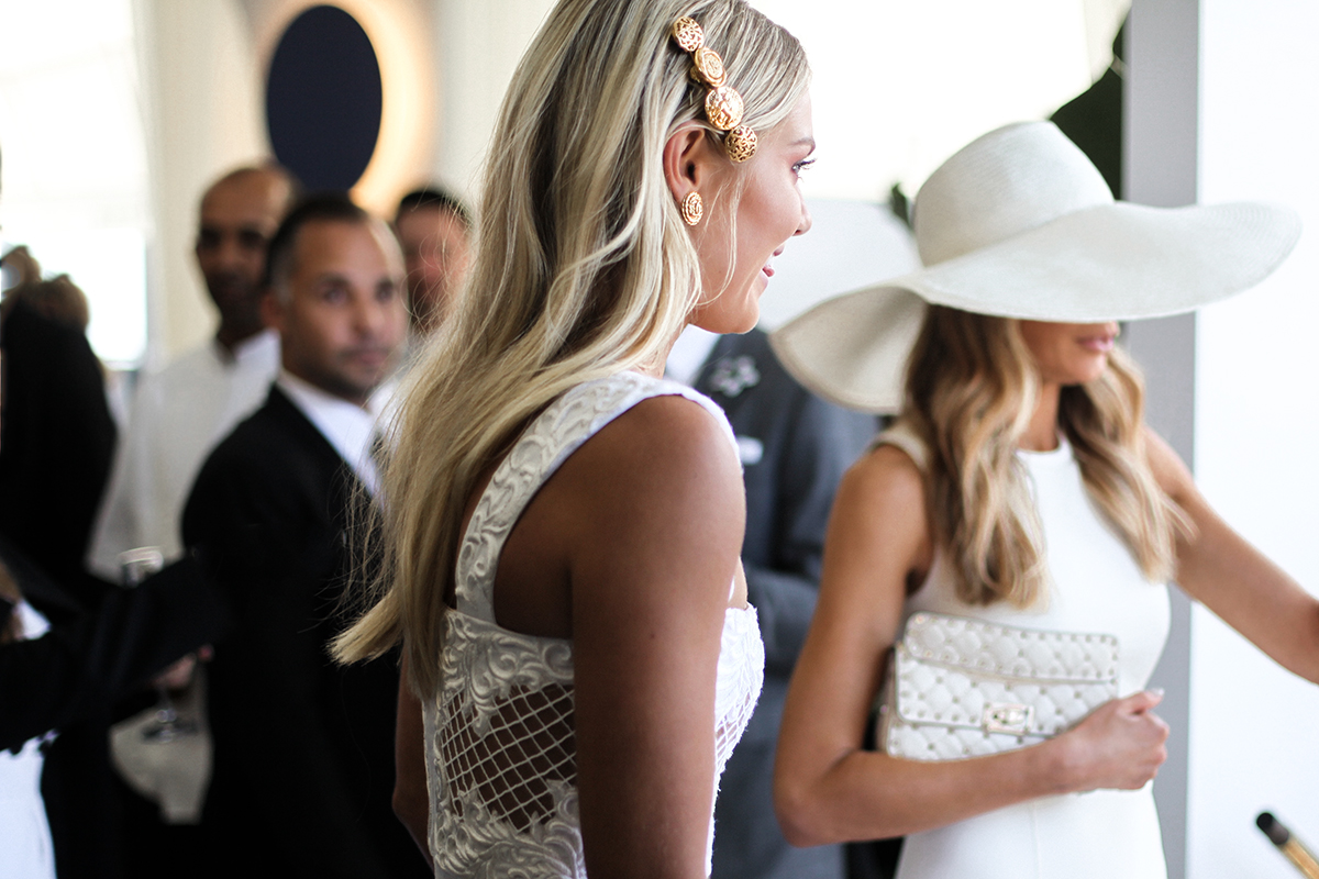 Elyse Knowles at Derby day