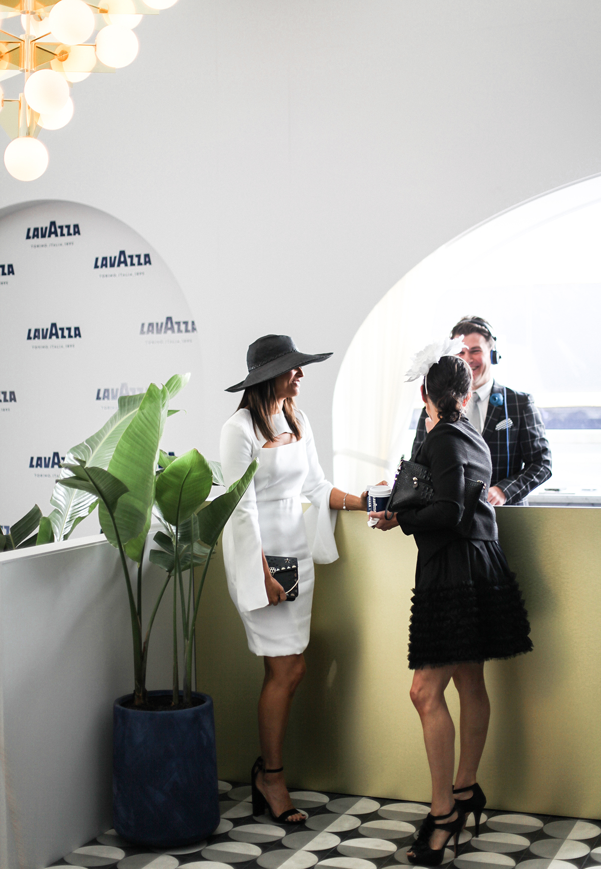 Zoe Venture at Lavazza Marquee at Derby Day